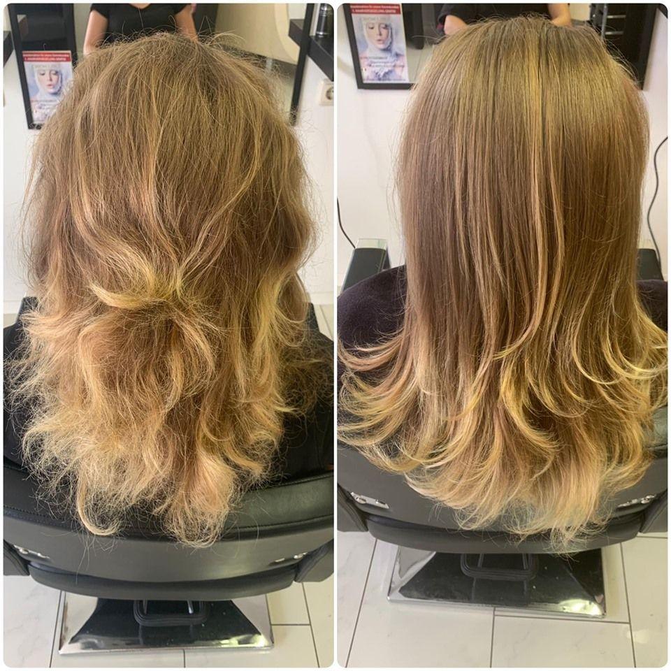 VORHER & NACHHER: Viktoria's Hair Secret | D-97421 Schweinfurt | +49 152 28797140
