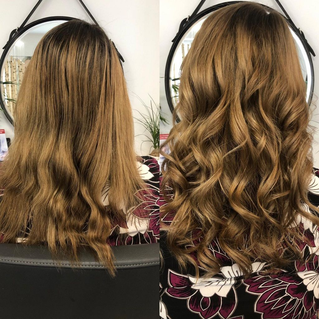VORHER/NACHHER: Kerstins-Hairstyle | A-3052 Innermanzing | +43 660 5380806