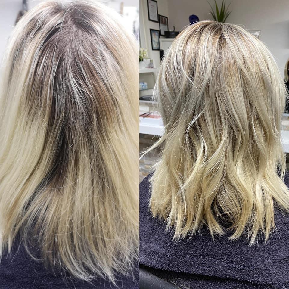 VORHER & NACHHER: Hair-Visa-Lisa | CH-4806 Wikon | +41 79 6991776