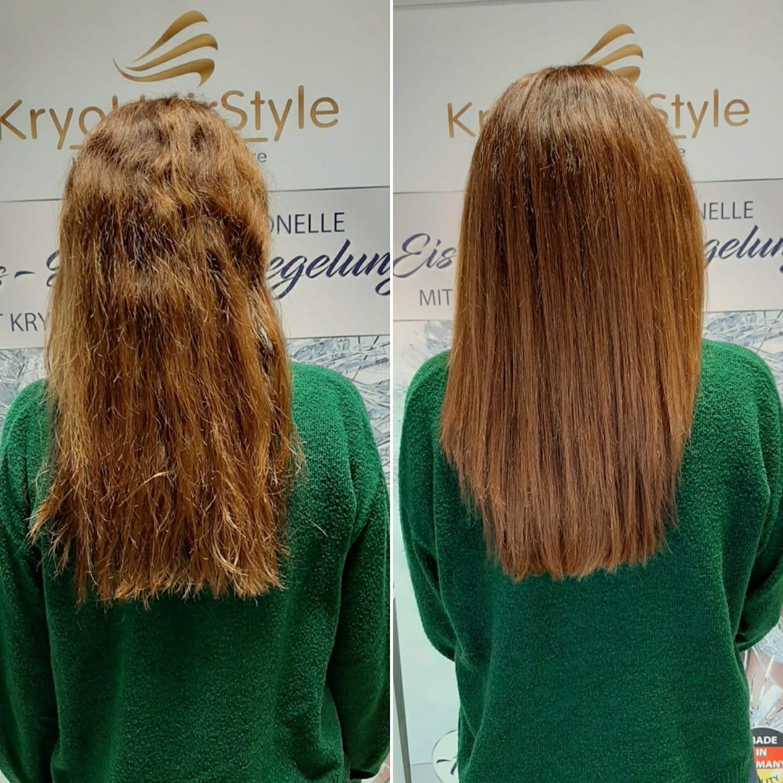 VORHER & NACHHER: Friseursalon Pretty Hair | D-26169 Friesoythe | +49 4491 785634